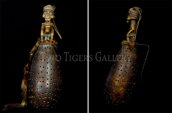 Shaman's Rattle from the Kongo
